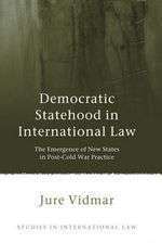 Book. Democratic Statehood. Jure Vidmar