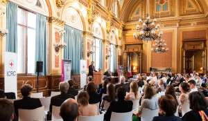 ICRC President Peter Maurer lectures at the FCO