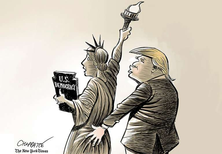 Chappatte, The New York Times